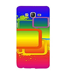 PrintVisa Modern Art Pattern 3D Hard Polycarbonate Designer Back Case Cover for Samsung Galaxy On 7