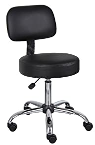 Boss Black Caressoft Medical Stool W/…