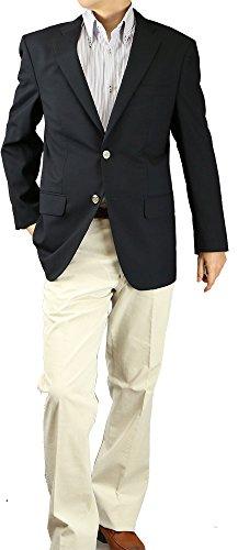 ブレザー 紺 メンズ ジャケット 紺ブレザー 春夏 ビジネス 春夏 82025 Y体(細身) 4号(160-165)