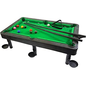 Pool Table - 19 inch, Plastic