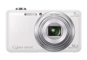Sony DSC-WX80/W 16 MP Digital Camera with 2.7-Inch LCD (White)