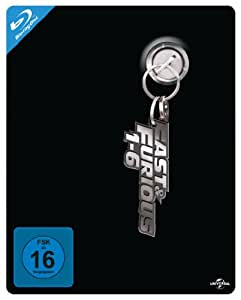 Fast & Furious 1-6Steelbook Box  (Limitiert) [Blu-ray]