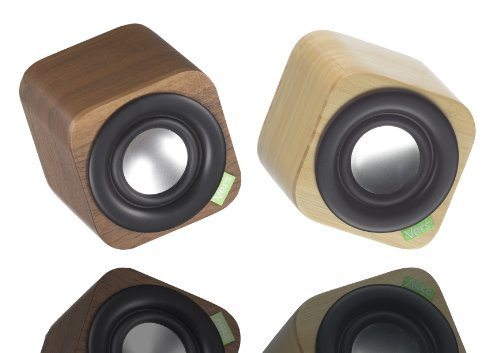 Vers Audio Q109 1Q Bluetooth Sound System (Natural Beech)