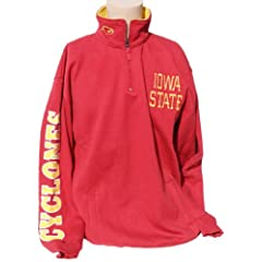 NCAA Iowa State Cyclones Quarter Zip Sweatshirt by Donegal Bay