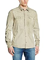 Guess Camisa Hombre Dusty (Arena)