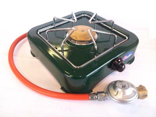 Campingkocher Kocher 1 flammig Grün von Parker