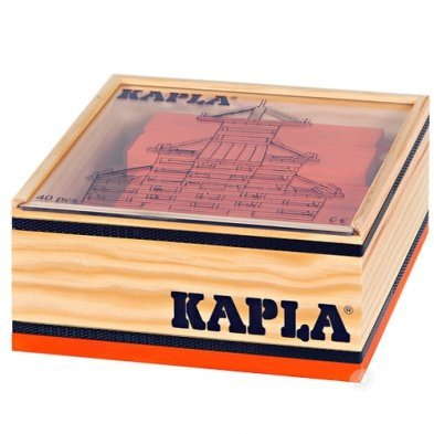 KAPLA Orange 40 Steine