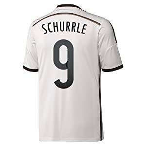 Adidas Schurrle #9 Germany Home Jersey World Cup 2014 (M)