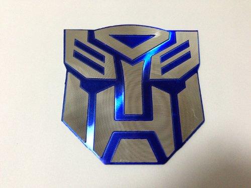3d Blue Transformers Autobot Logo Emblem Badge Decal Car (Gsxr Decals compare prices)