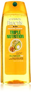 Garnier Fructis Triple Nutrition Shampoo, 25.4 oz,