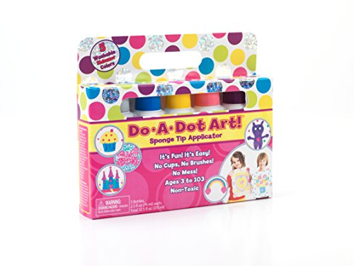 Do A Dot Art! Markers 5-Pack Shimmer Washable Paint Markers, The Original Dot Marker (Dot Makers For Kids compare prices)