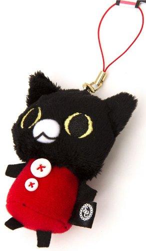 Imagen 3 de Colgante Gato Negro de Peluche de Sentimental Circus