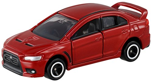 Takara Tomy Mitsubishi Lancer Evolution X Dark Red #067-7 - 1