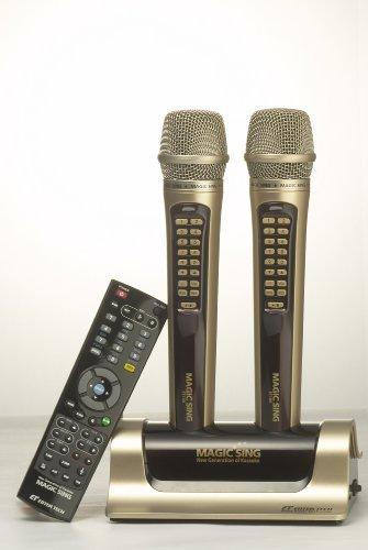 Magic Sing ET18000H ET-18000 Hindi Wireless Multiplex Karaoke Microphone 2009 Edition