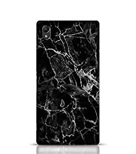 Sony Xperia Z1 Phone Cover For Thailand Black Marble Back Cover For Sony Xperia Z1 Multicolor