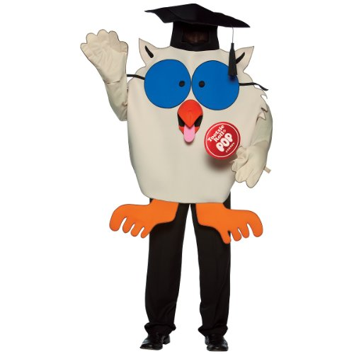 Tootsie Roll Mr. Owl Adult Halloween Costume (One Size Fits Most Adults)