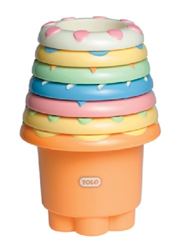 Tolo Rainbow Stacker Baby Toy