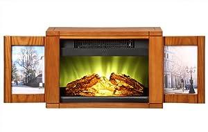 Muskoka MPF-BWL Electric Picture Frame Personal Fireplace