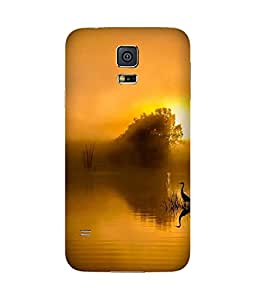 Yellow Beauty Samsung Galaxy S5 Case