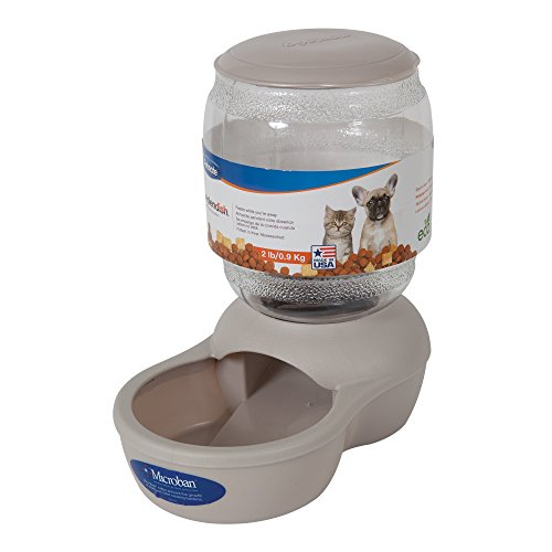 Petmate Gray Replendish Pet Feeder, X-Small