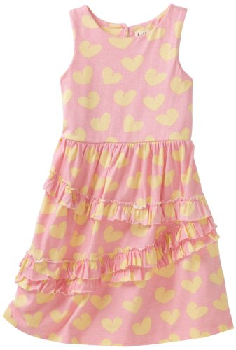 Hatley Girls 2-6X Kids Hearts Ruffle Dress