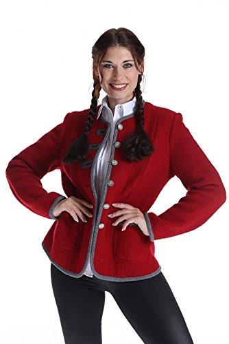 Moser Damen Janker Waldviertel 42372 2 rot 2805 jetzt kaufen