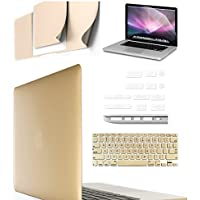 """IFyx Matte Rubberized Hard Protective Shell Case Cover Skin For Apple Macbook Air 13 Inch 13.3"""" Full Set"""