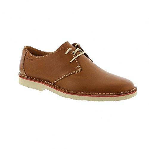 clarks-originals-jareth-walk-derby-para-hombre-marron-tan-leather-44-eu