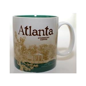 Starbucks Atlanta Collectible Coffee Mug with Cityscape