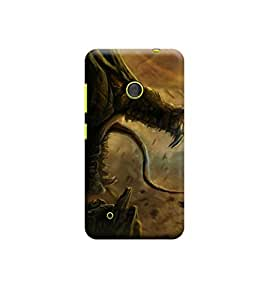 EPICCASE Premium Printed Mobile Back Case Cover With Full protection For Nokia Lumia 530 (Designer Case)
