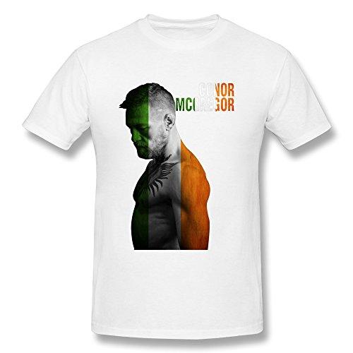 Men's Rose Memery Conor Mcgregor Ufc Tshirts bianco S