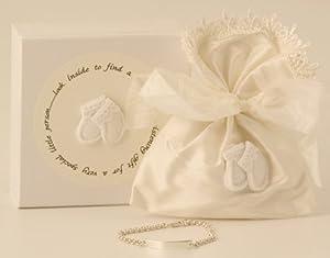 My Christening - Silver Identity Bracelet Set In Keepsake Box