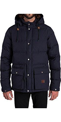 2016 Billabong Journey Padded Parka Jacket NAVY Z1JK17 Sizes- - XXLarge