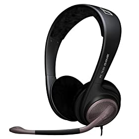 Sennheiser Communications �I�[�v���G�A�^ 7.1ch�T���E���h�T�E���h�Ή� HEADSET PC 163D USB 504128