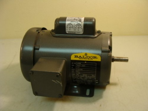 Baldor L3406 General Purpose Ac Motor, Single Phase, 48 Frame, Tefc Enclosure, 33/100Hp Output, 1725Rpm, 60Hz, 115/230V Voltage