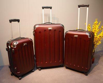 Trolley Set 3tlg. ABS Hartschale Koffer Kofferset