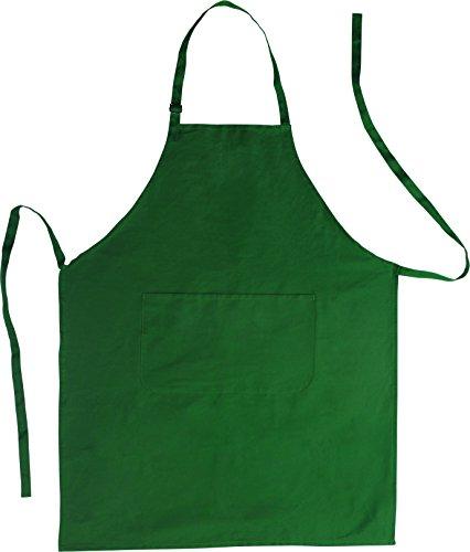 Küchenschürze - Grillschürze - Baumwolle grün