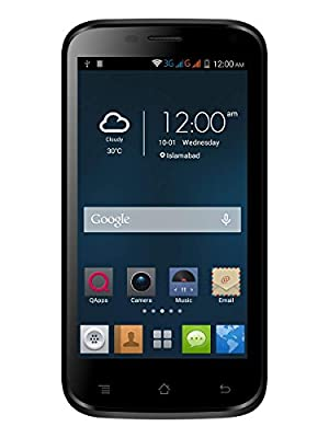 Q Mobile X90 5 inch Android 3G Mobile In White Colour