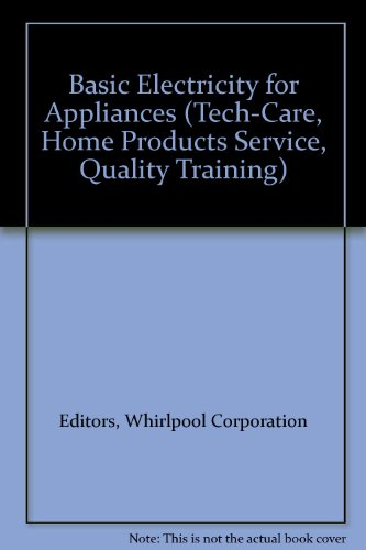 Basic Electricity For Appliances (Tech-Care, Home Products Service, Quality Training) front-112583