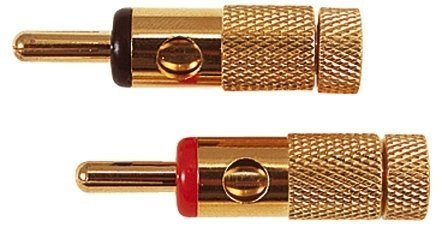 Electrovision 4Mm Banana Plugs, Red/Black