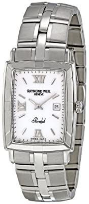 Raymond Weil Men's 9341-ST-00307 Parsifal White Dial Watch