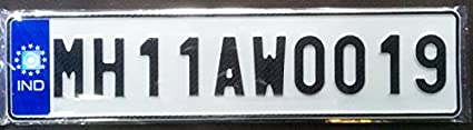 Car-Number-with-Aluminium-plate-and-Plastic-Frames-Only-for-your-car