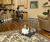Midwest Select Triple-Door Dog Crate, 48 Inches by 30 Inches by 33 Inches