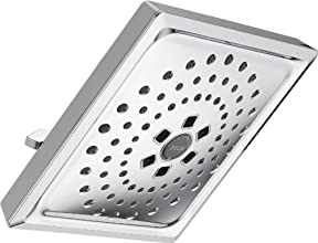 Delta Faucet 52684 Universal Showering Components with 3 Setting H2OKinetic Square Rain Can, Chrome