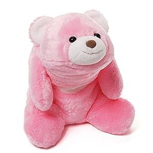 "Gund Snuffles Pink 10"" Bear Plush by Gund"