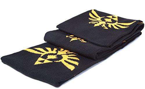 Zelda sciarpa The Legend Of Zelda Triforce Logo Black