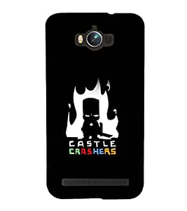 printtech Castle Crashers game Back Case Cover for Asus Zenfone Max ZC550KL (2016)