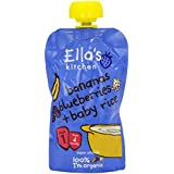 Ella's Kitchen Bananas and Blueberries Baby Rice 120 g (Pack of 7) (Organic)