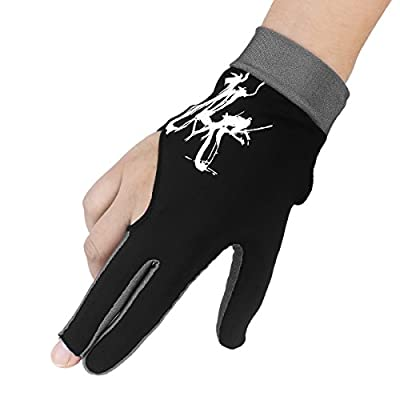Fashion Professional Billiards Pool Snooker Cue Shooters Gloves