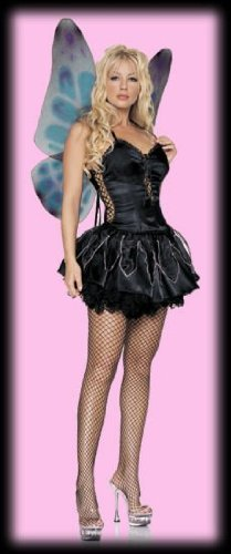 Gothic Pixie - Sexy Adult Fairy Costumes Lingerie Outfit by 3WISHES.COM